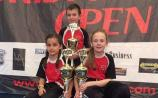 Liam, Lisa and Meadhbh win nine medals for Cobra Kan