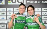 Dundalk paracycling world champion McCrystal, and Dunlevy, awarded Sports Woman of the Month award for August