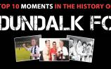 Have your say on Dundalk FC's Top 10 Memorable Sporting Moments!