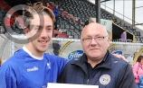 Muirhevna Mor's right winger supreme Brian Begley was 'shocked' at being named Tully Cup final Man of the Match
