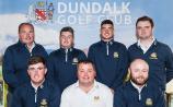 Dundalk Golf Club's senior panel beaten in the Regional final of the AIG Senior Cup