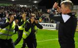 King Kenny salutes Dundalk FC's travelling contingent and the match-winner in Cork, Chris Shields, as title nears Oriel Park