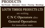 Timber company looking for general operatives