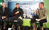 Watch: Irish rugby star Jamie Heaslip discusses his injury and Ireland coach Joe Schmidt at #Ploughing17