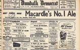 Some stirring times from the Dundalk Democrat's early days