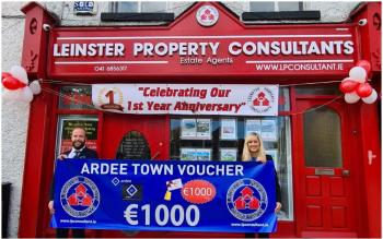 Leinster Property Consultants celebrate one year in business with competition to win €1,000 in vouchers