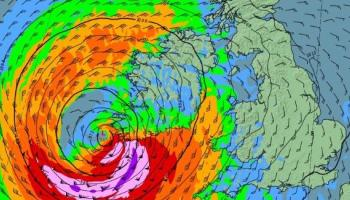 LIVE: Watch Ophelia as it moves towards Louth