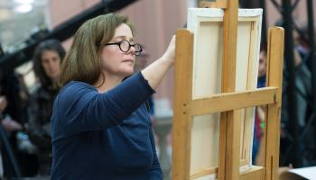 Dundalk woman into semi-final of Sky Arts' Portrait Artist of the Year