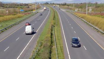 Debris reported on M1 near Dundalk this afternoon