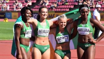 Dundalk sprinters Akpe-Moses and Jumbo-Gula help Ireland to relay silver at World U20 Championships