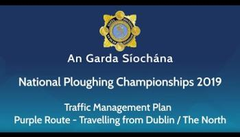 Advice for people travelling to the National Ploughing Championships via the Northern Route