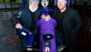The Cadbury Secret Santa Postal Van is coming to Louth