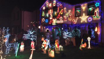 Dundalk woman turns home into winter wonderland for Zoe Murphy appeal