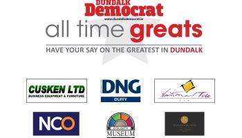 DUNDALK ALL TIME GREAT: We have our two finalists!!