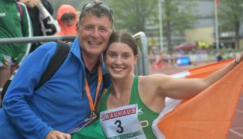 'I'm just so looking forward to what the future holds' - European silver medallist Kate O'Connor