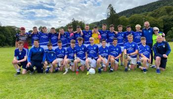 Roche U15s give an exhibition to take Leinster League honours