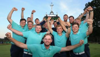 Dundalk golfer Caolan Rafferty reflects on recent success with Irish team in Home Internationals