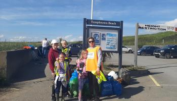 Volunteers removed 2.4 tonnes of litter from Louth beaches last weekend