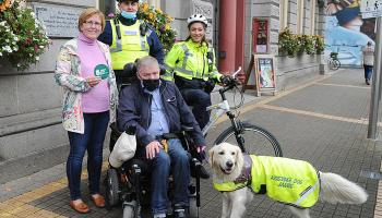 Local disability campaigner seeks to highlight obstacles for disabled people in Dundalk on Make Way Day