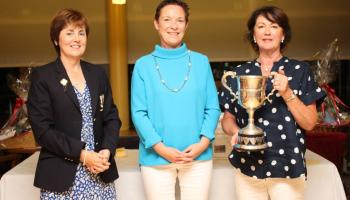 Teresa Oakes lands Dundalk Golf club's final Golfer of the Year event