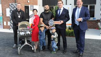Minister opens new homes in Dundalk