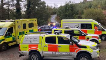 Injured hiker rescued off Slieve Foy by coastguard and emergency services