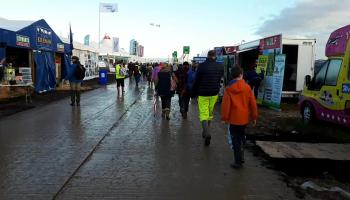 Conditions underfoot have improved but bring your wellies for day three of #Ploughing17