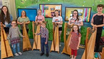 Celebrating National Harp Day in Dundalk