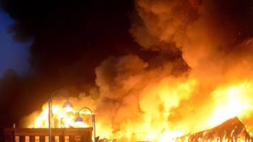 Gardaí launch investigation after huge fire in Louth overnight