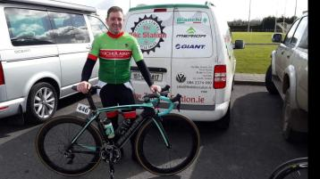 Cuchulainn Cycling Club's Ray Fedigan claimed victory in round one of the IVCA league on Sunday.