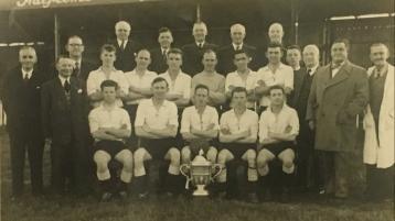 Gannon breaks cheekbone and Rovers' Cup dreams - 1958