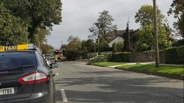 STORM ALI: Carrick Road in Dundalk remains closed