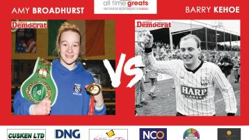 FINAL POLL: Dundalk All Time Great - Amy Broadhurst v Barry Kehoe