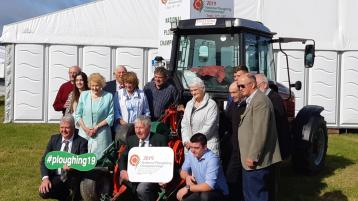 'Green is the theme,' Ploughing Championships officially launched at site in Carlow
