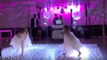 Dundalk twins go viral with wedding dance video
