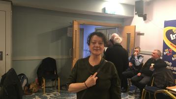"""Excluded Louth candidate Audrey Fergus: """"I'm absolutely ecstatic. We did great."""""""