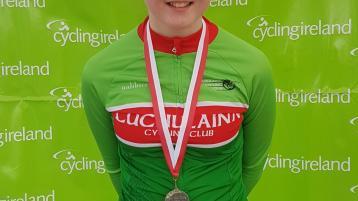 Dundalk's Cuchulainn Cycling Club member wins medal