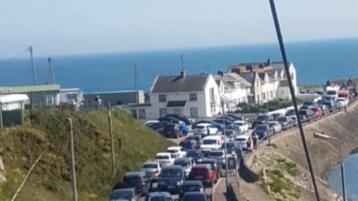 Parking at Gyles Quay causing traffic chaos