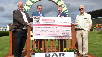 BAR ONE Racing announces three-year sponsorship deal for Bellewstown