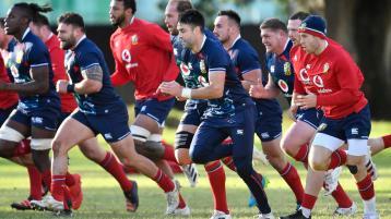 Three Irish players start for British and Irish Lions against South Africa