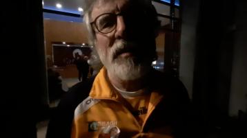 VIDEO: Gerry Adams on Sinn Féin taking two seats in Louth after first count