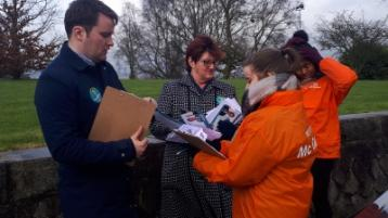On the Canvas: Knocking doors has become a part of life for 'young gun' John McGahon