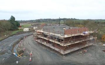 VIDEO: Stunning drone footage gives glimpse of one of Dundalk's most exciting new housing developments