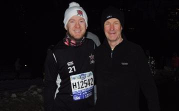 Louth father and son run around Big Apple
