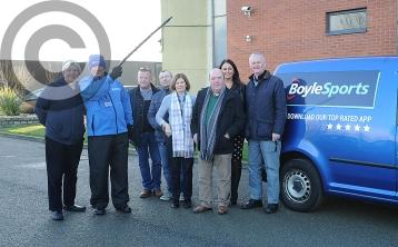 Local Boylesports employee Brian Murphy sets off from Dundalk for 8-day charity walk to Tipperary