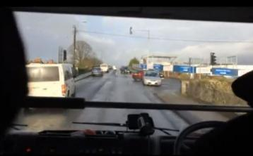 WATCH: Hair-raising footage of fire service racing to incident in Dundalk