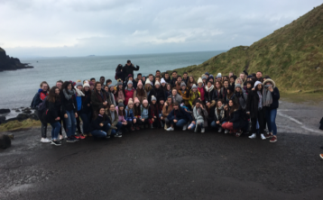 French school given a 'céad míle fáilte' during Dundalk visit