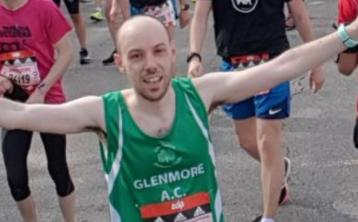 Glenmore AC juveniles turned out in their numbers at Pre-Louth Championships