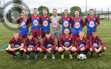 Carr bags three while Newell hits a brace as Redeemer demolish Navan Cosmos in NEFL Division Two