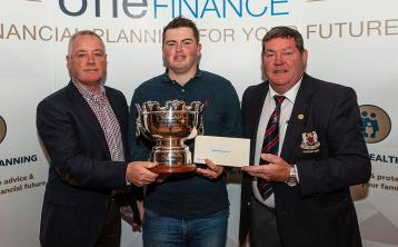 Caolan Rafferty holds off Gerard Dunne's course record run to claim second Dundalk Scratch Cup victory in three years